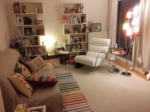Où me trouver ? Cabinet de nuit - fev 2016 Gestalt Psychothérapie Paris 15