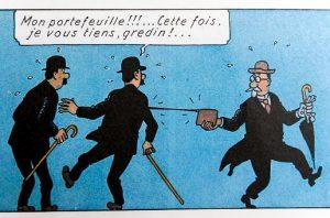Tintin - Hergé les Duponts