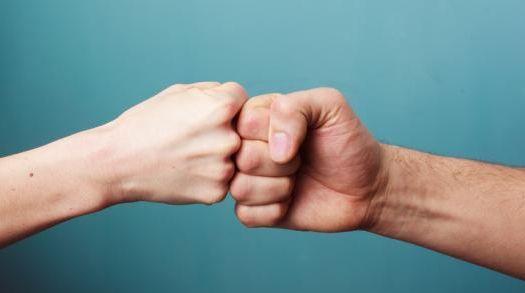 La vraie force Poing contre poing Frédérique Bricaud Psy Paris 15